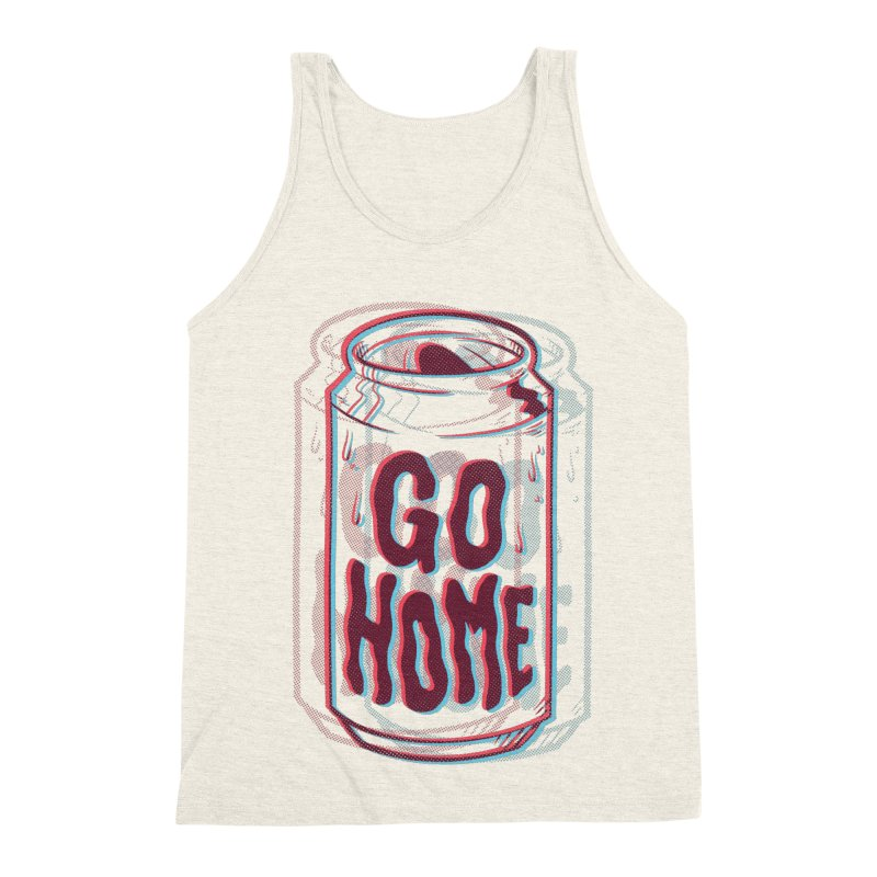 Go Home Men's Triblend Tank by Morkki