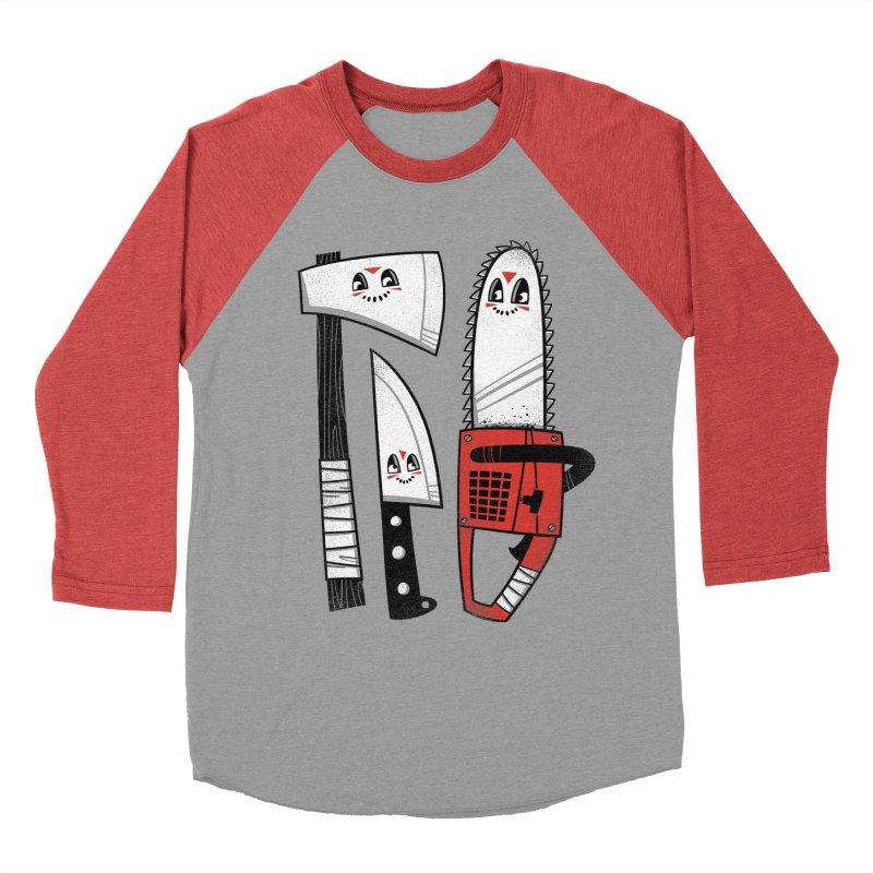 Happy Slasher Pals Men's Longsleeve T-Shirt by Morkki