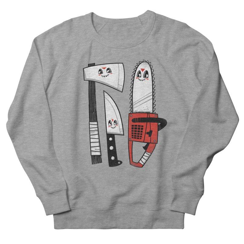 Happy Slasher Pals Men's Sweatshirt by Morkki