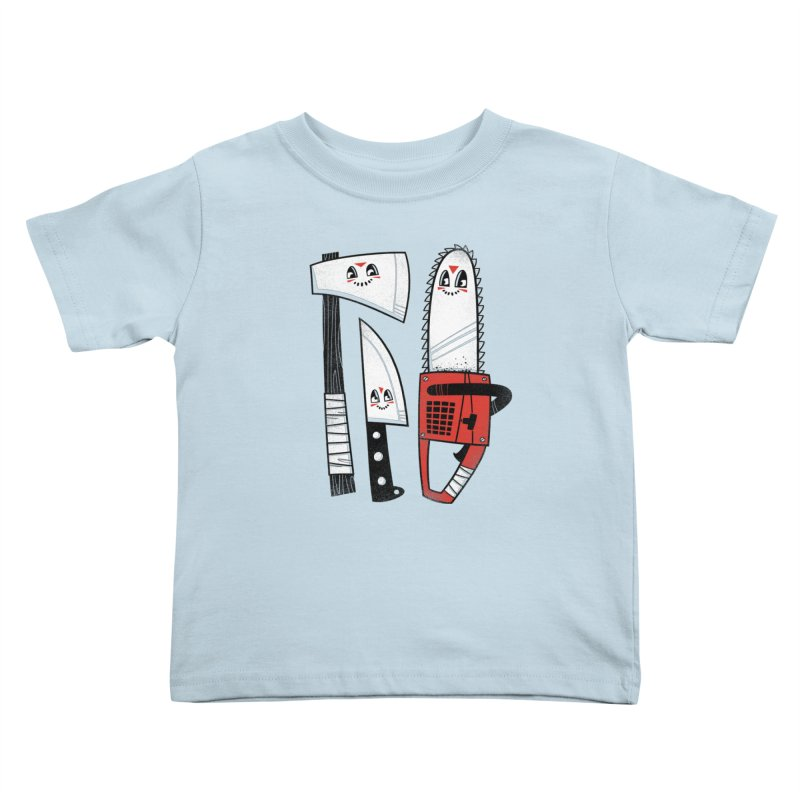 Happy Slasher Pals Kids Toddler T-Shirt by Morkki
