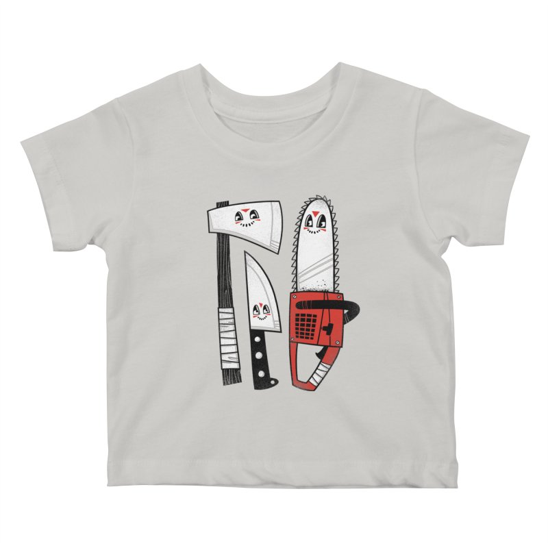 Happy Slasher Pals Kids Baby T-Shirt by Morkki