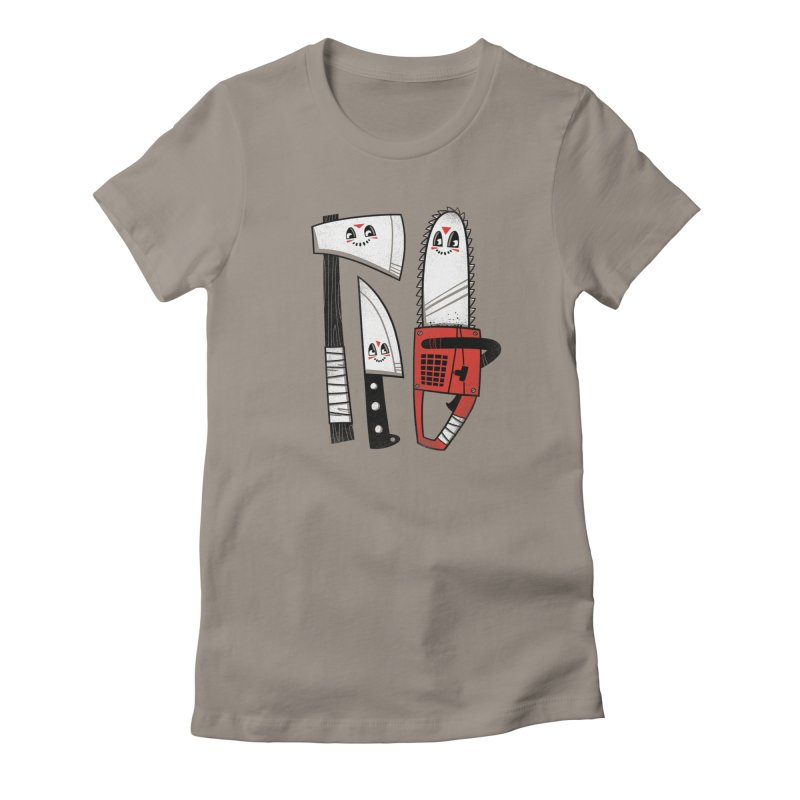 Happy Slasher Pals Women's T-Shirt by Morkki