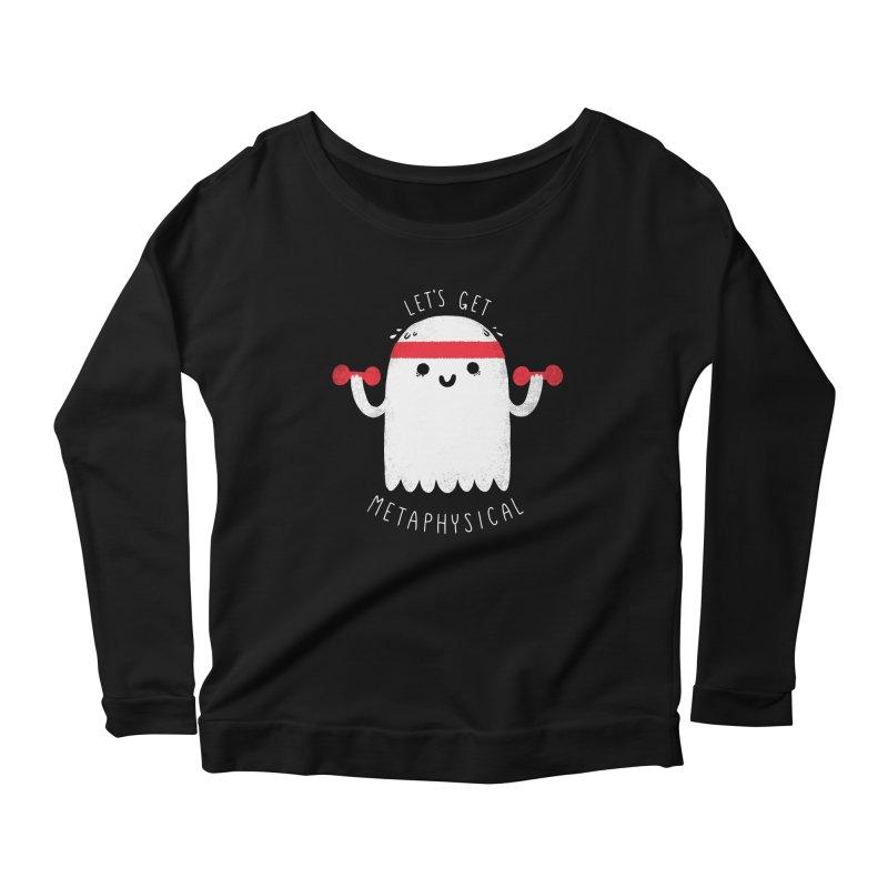 Metaphysical Women's Scoop Neck Longsleeve T-Shirt by Morkki
