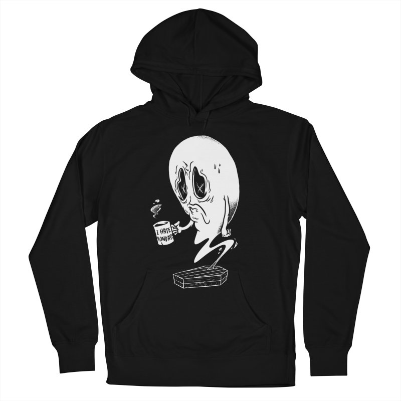Wake the Dead Men's Pullover Hoody by Morkki