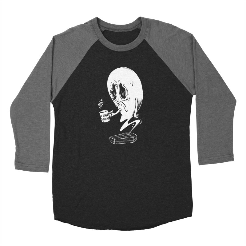 Wake the Dead Men's Baseball Triblend Longsleeve T-Shirt by Morkki