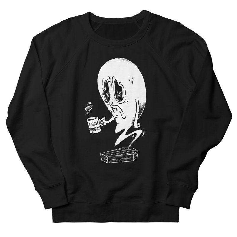 Wake the Dead Men's French Terry Sweatshirt by Morkki