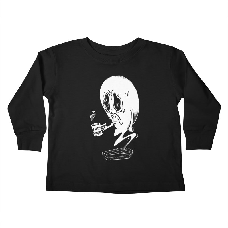 Wake the Dead Kids Toddler Longsleeve T-Shirt by Morkki