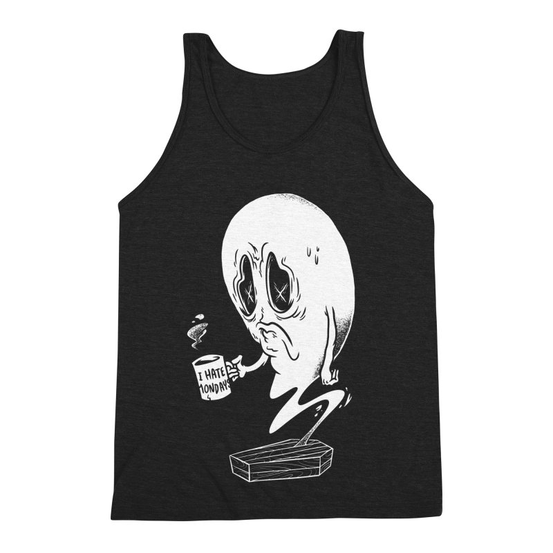 Wake the Dead Men's Triblend Tank by Morkki