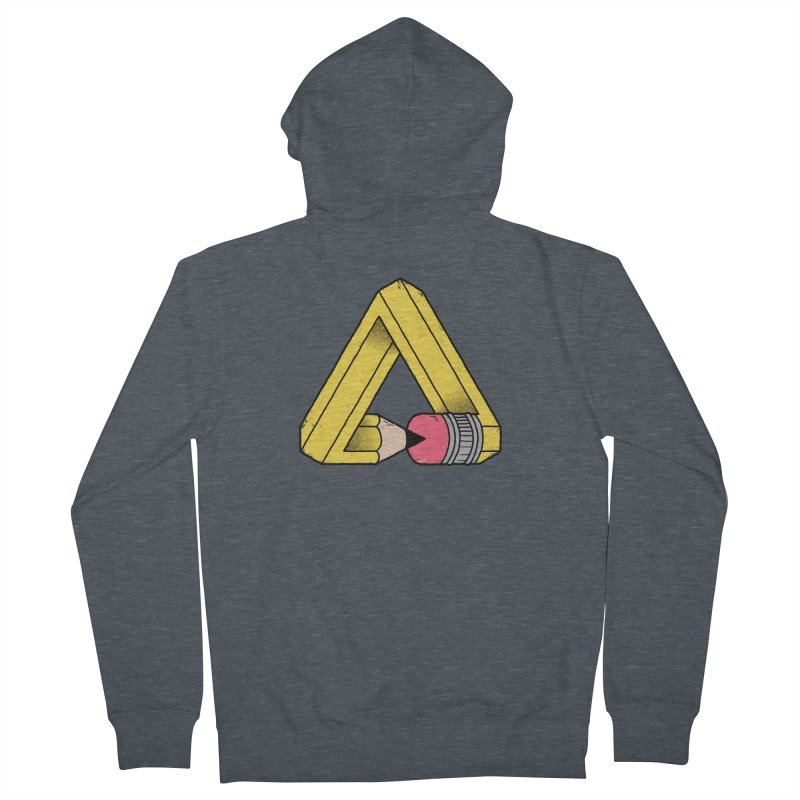 You Can Draw Anything Women's French Terry Zip-Up Hoody by Morkki