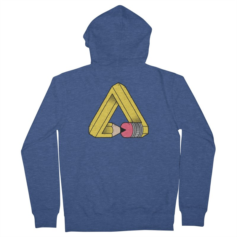 You Can Draw Anything Men's Zip-Up Hoody by Morkki