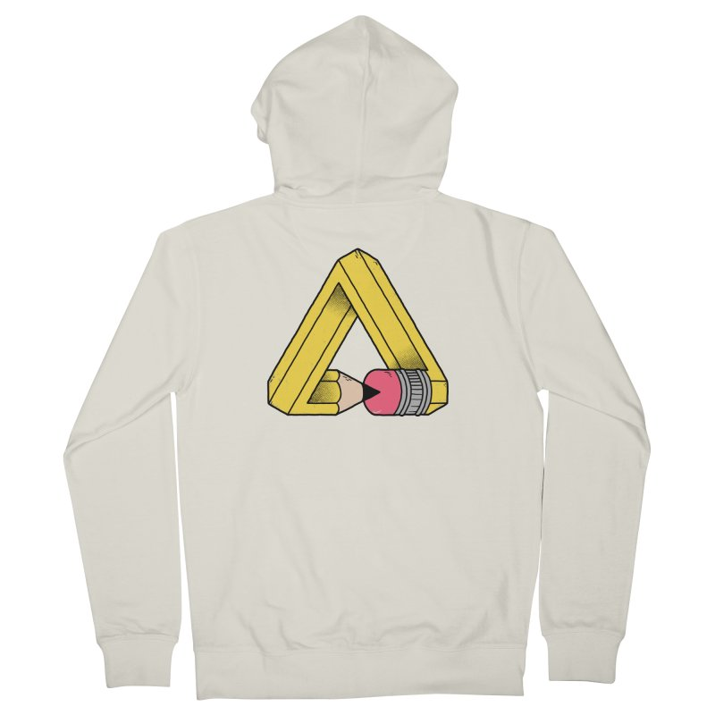 You Can Draw Anything Men's French Terry Zip-Up Hoody by Morkki