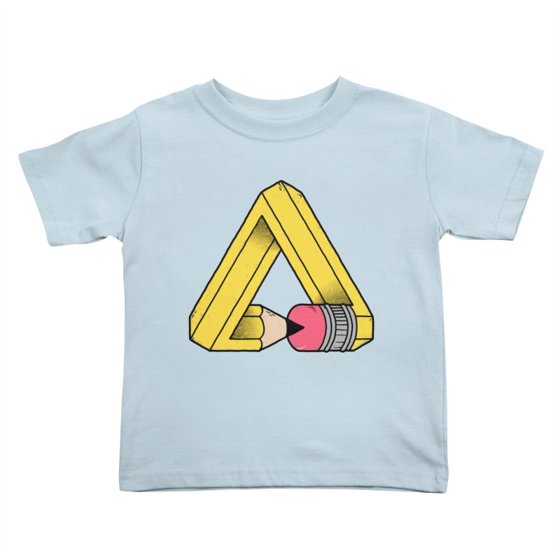 You Can Draw Anything Kids Toddler T-Shirt by Morkki