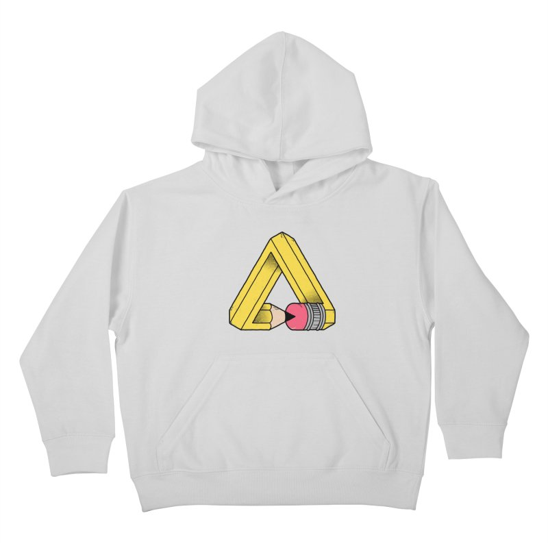 You Can Draw Anything Kids Pullover Hoody by Morkki