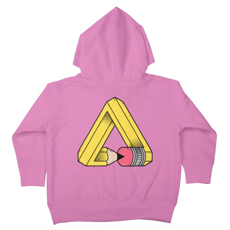You Can Draw Anything Kids Toddler Zip-Up Hoody by Morkki