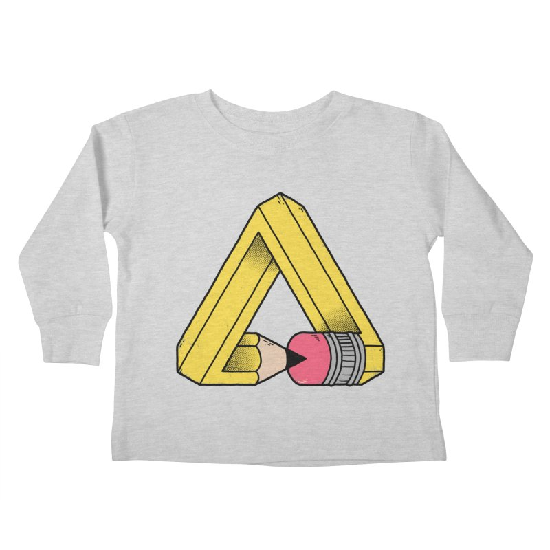 You Can Draw Anything Kids Toddler Longsleeve T-Shirt by Morkki