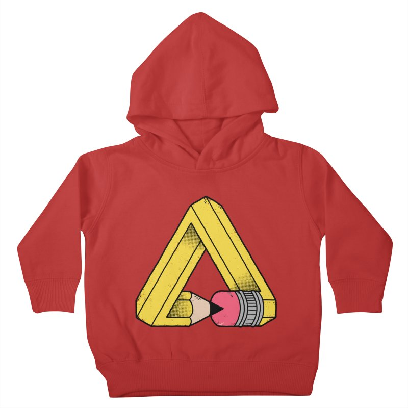 You Can Draw Anything Kids Toddler Pullover Hoody by Morkki