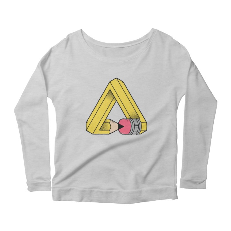 You Can Draw Anything Women's Longsleeve Scoopneck  by Morkki