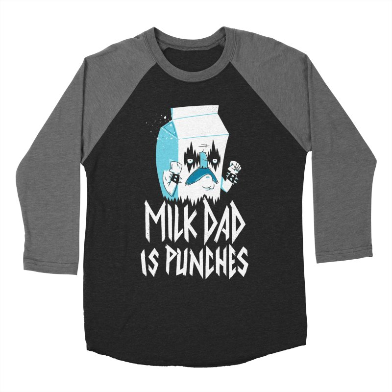 Milk Dad Is Punches Women's Longsleeve T-Shirt by Morkki