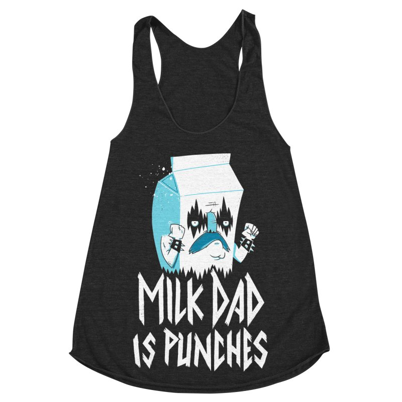 Milk Dad Is Punches Women's Tank by Morkki