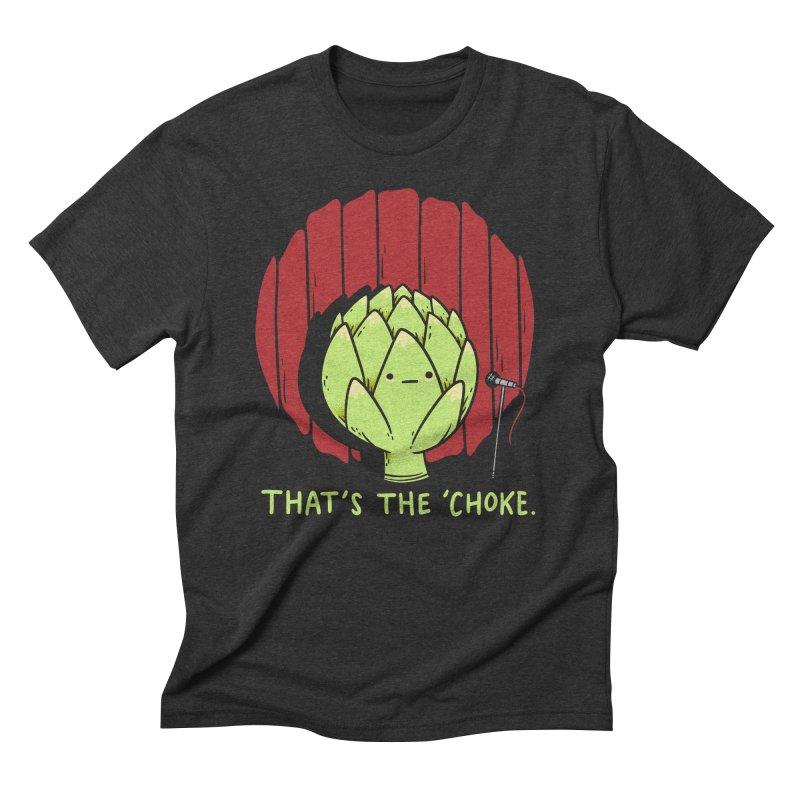 That's the 'Choke Men's Triblend T-Shirt by Morkki
