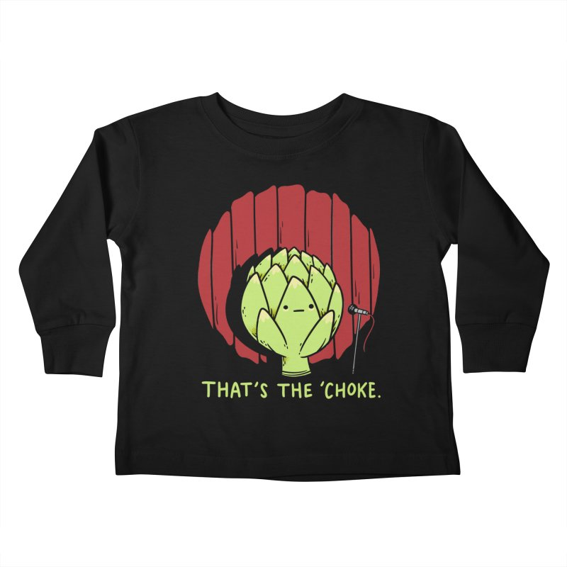 That's the 'Choke Kids Toddler Longsleeve T-Shirt by Morkki
