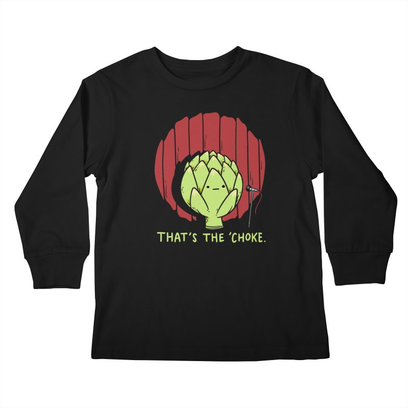 That's the 'Choke Kids Longsleeve T-Shirt by Morkki