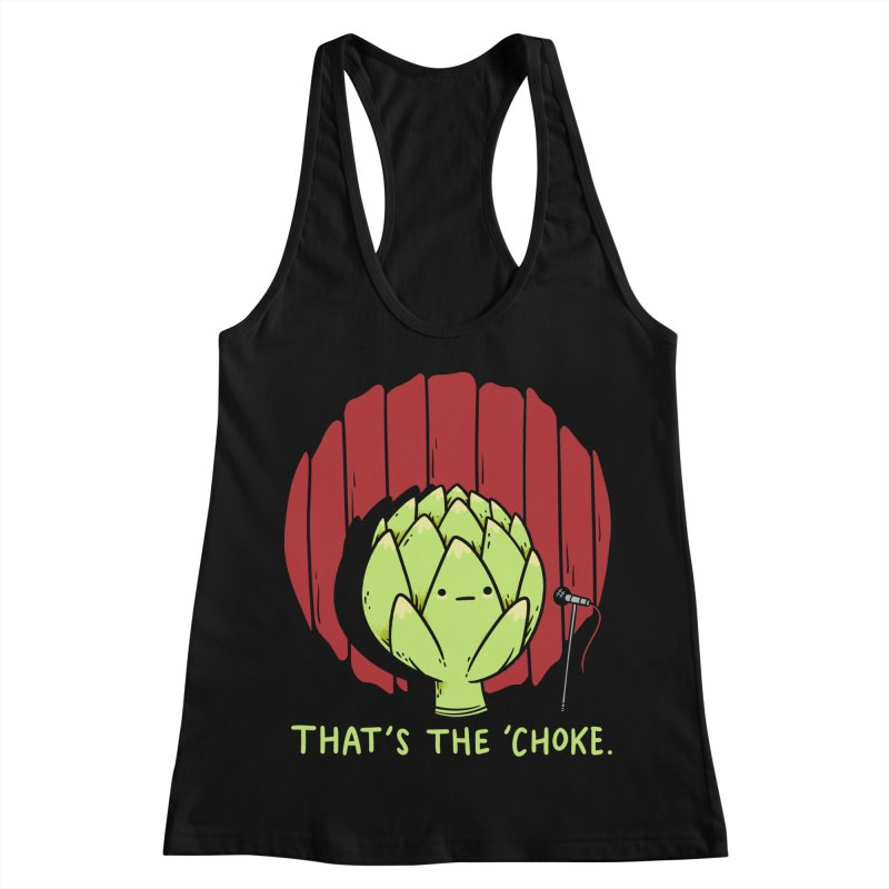 That's the 'Choke Women's Racerback Tank by Morkki