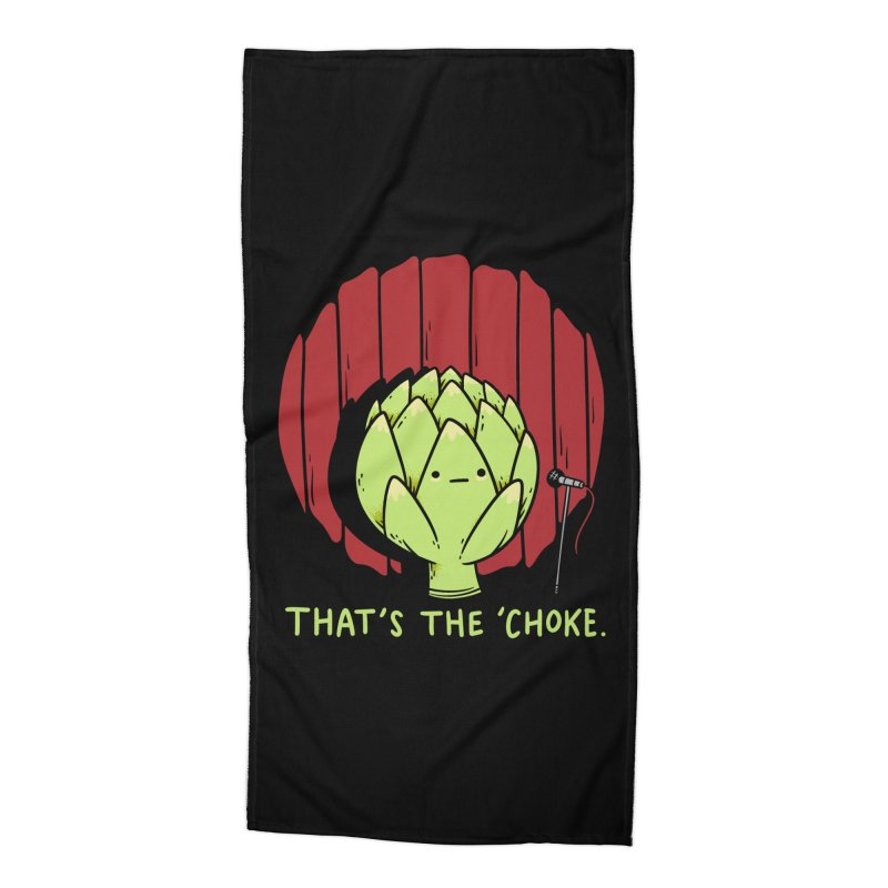 That's the 'Choke Accessories Beach Towel by Morkki