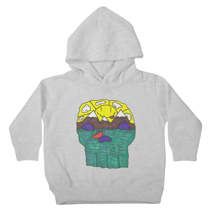 Skull Island Kids Toddler Pullover Hoody by morningviewstudios's Artist Shop