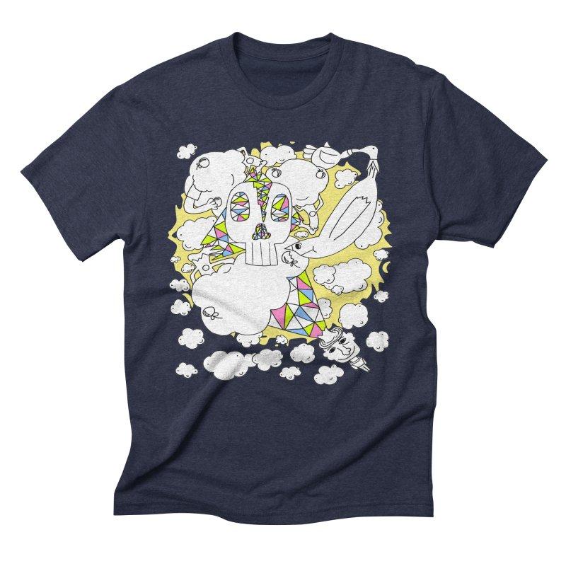 Autistic Daydream Men's Triblend T-shirt by morningviewstudios's Artist Shop