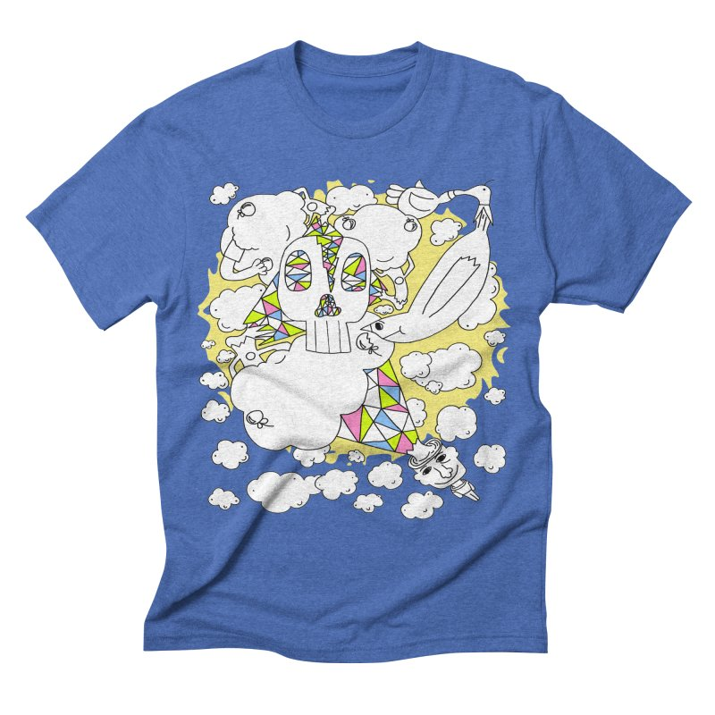 Autistic Daydream Men's Triblend T-shirt by morningviewstudios's Artist Shop