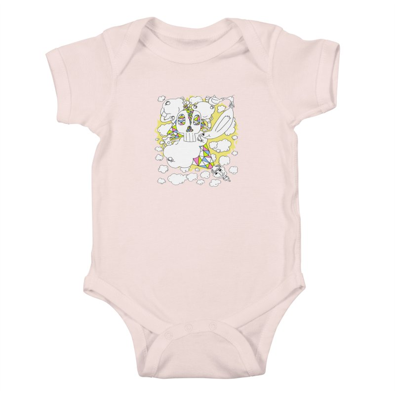 Autistic Daydream Kids Baby Bodysuit by morningviewstudios's Artist Shop
