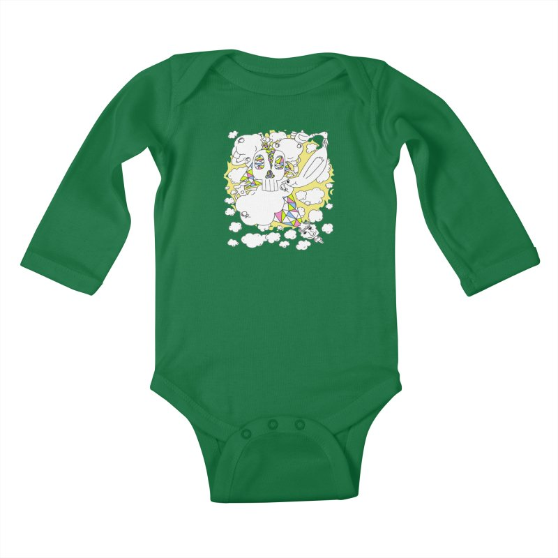 Autistic Daydream Kids Baby Longsleeve Bodysuit by morningviewstudios's Artist Shop