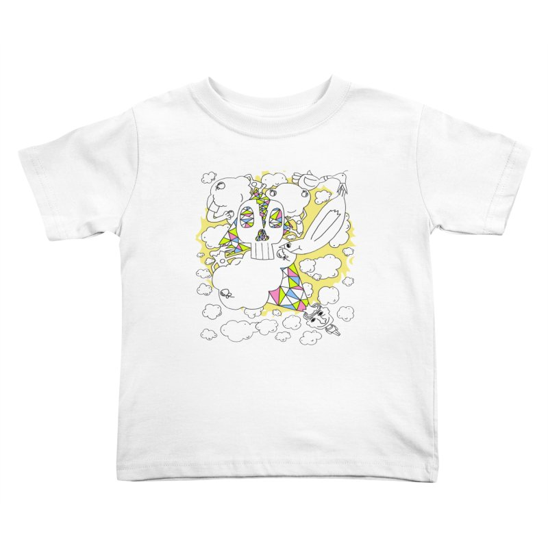 Autistic Daydream Kids Toddler T-Shirt by morningviewstudios's Artist Shop
