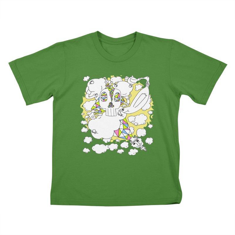 Autistic Daydream Kids T-Shirt by morningviewstudios's Artist Shop