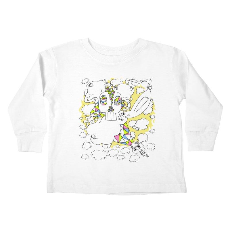 Autistic Daydream Kids Toddler Longsleeve T-Shirt by morningviewstudios's Artist Shop