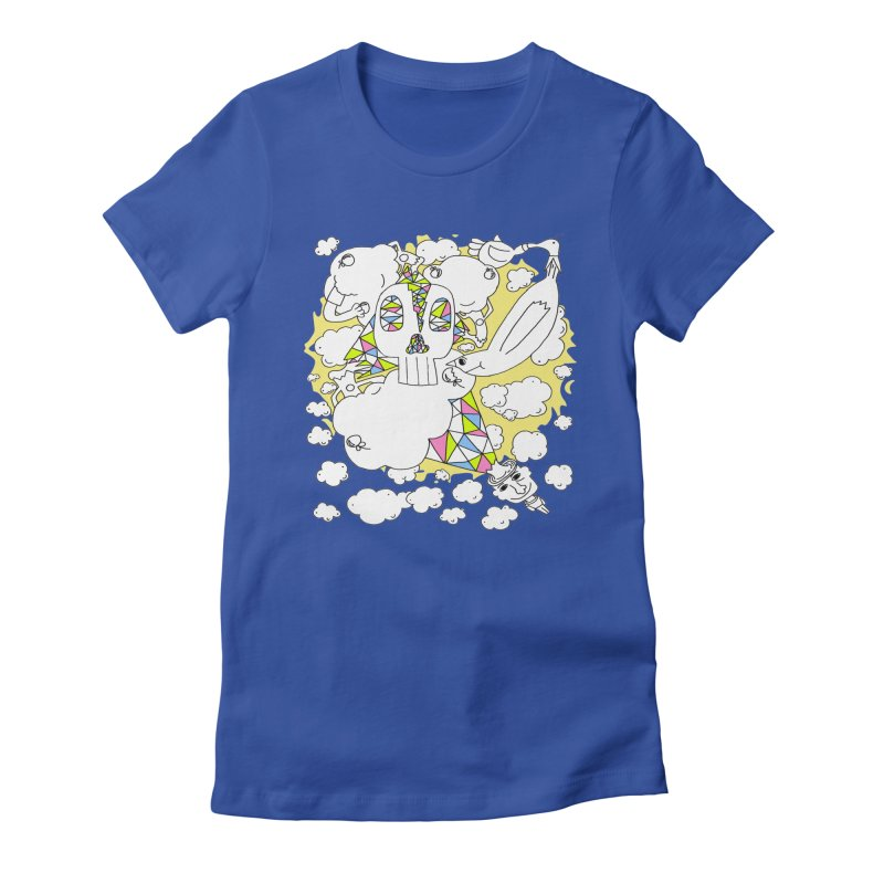 Autistic Daydream Women's Fitted T-Shirt by morningviewstudios's Artist Shop