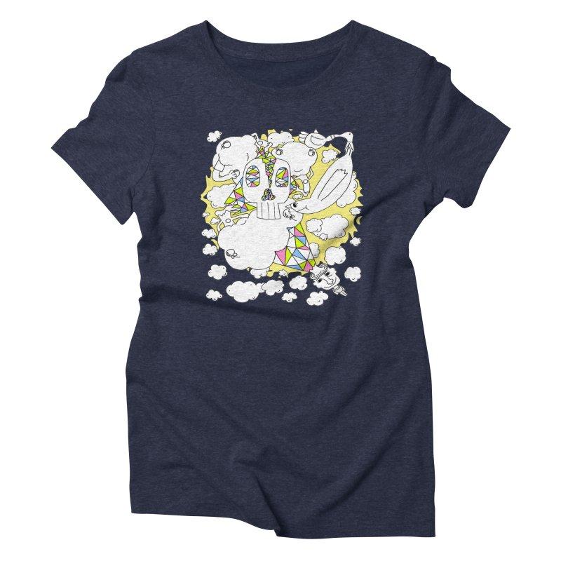 Autistic Daydream Women's Triblend T-shirt by morningviewstudios's Artist Shop