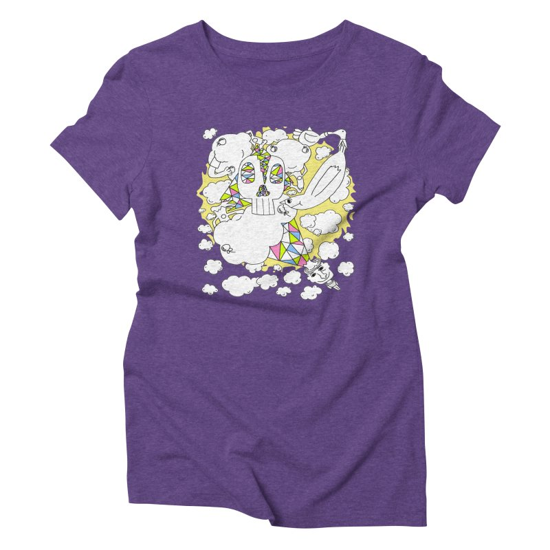 Autistic Daydream Women's Triblend T-shirt by morningviewstudios's Artist Shop