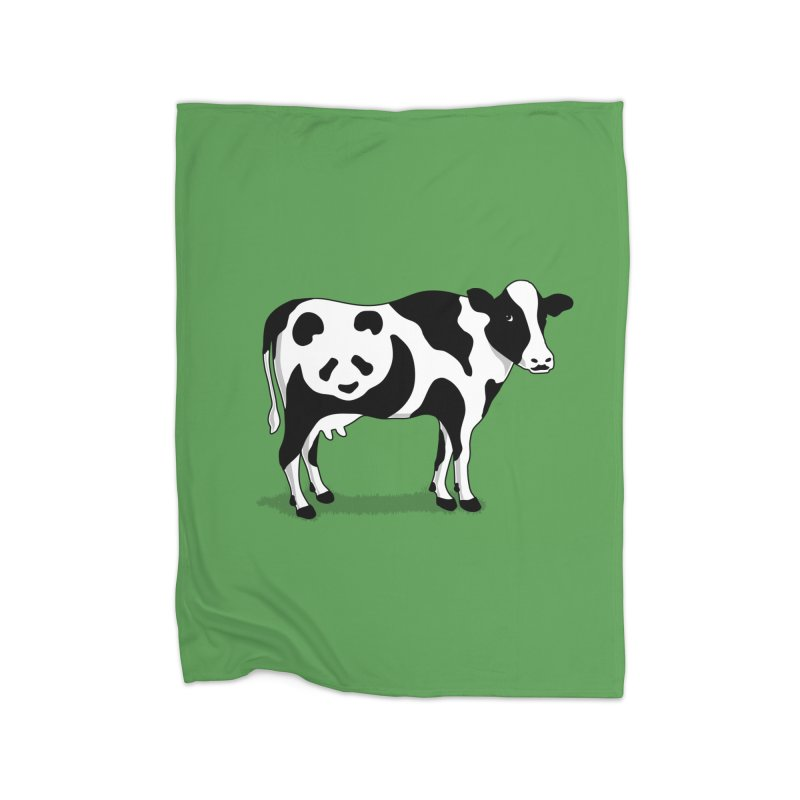 CowPanda Home Blanket by Morozinka Artist Shop