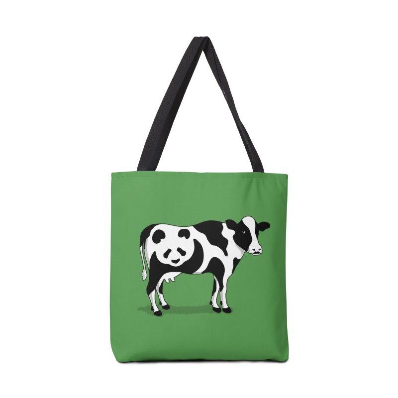 CowPanda Accessories Bag by Morozinka Artist Shop