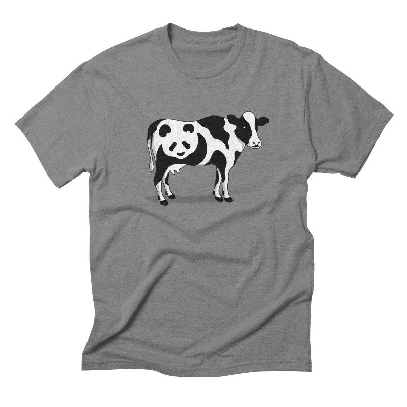 CowPanda Men's Triblend T-Shirt by Morozinka Artist Shop