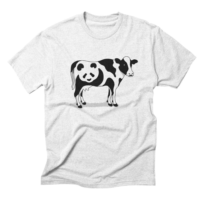 CowPanda Men's Triblend T-shirt by Morozinka Artist Shop