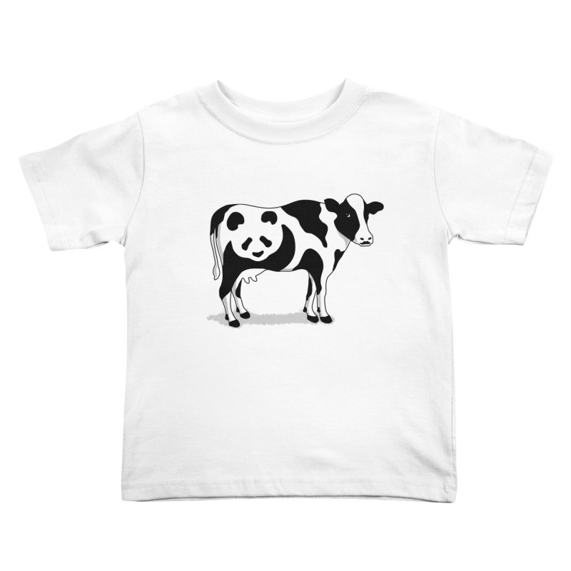 CowPanda Kids Toddler T-Shirt by Morozinka Artist Shop