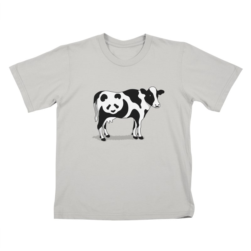 CowPanda Kids T-Shirt by Morozinka Artist Shop