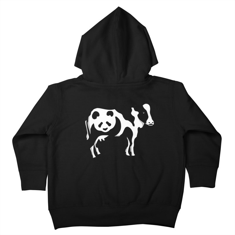 CowPanda Kids Toddler Zip-Up Hoody by Morozinka Artist Shop