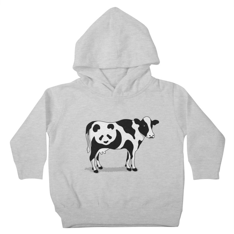 CowPanda Kids Toddler Pullover Hoody by Morozinka Artist Shop