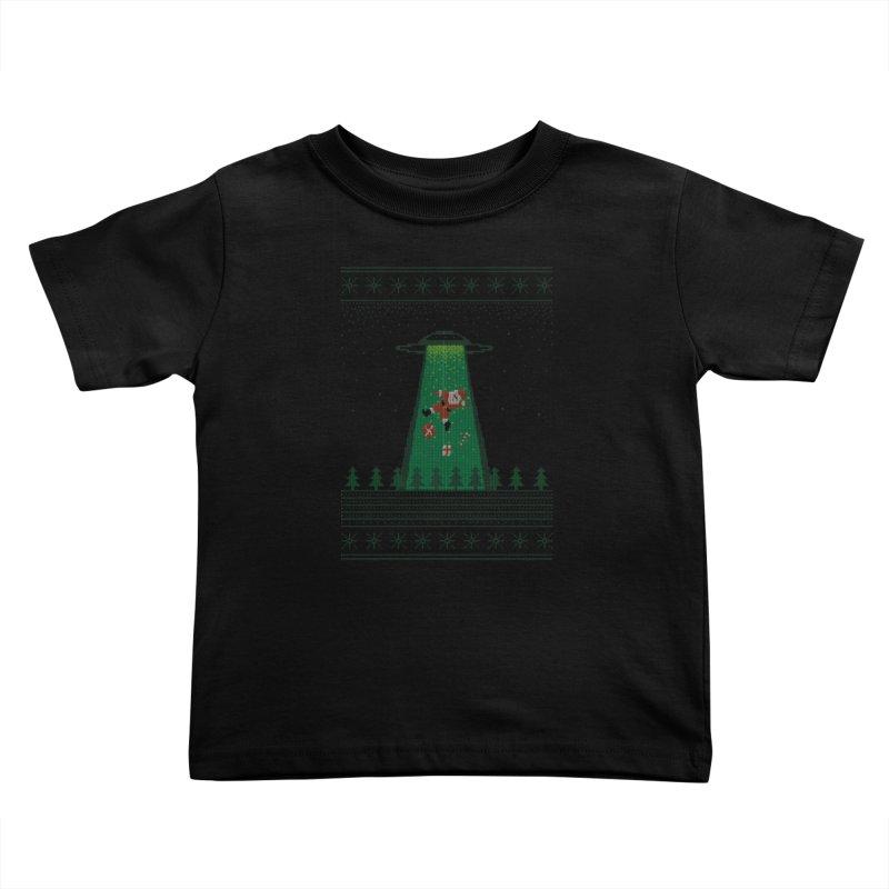 Goodbye Santa Kids Toddler T-Shirt by Morozinka Artist Shop