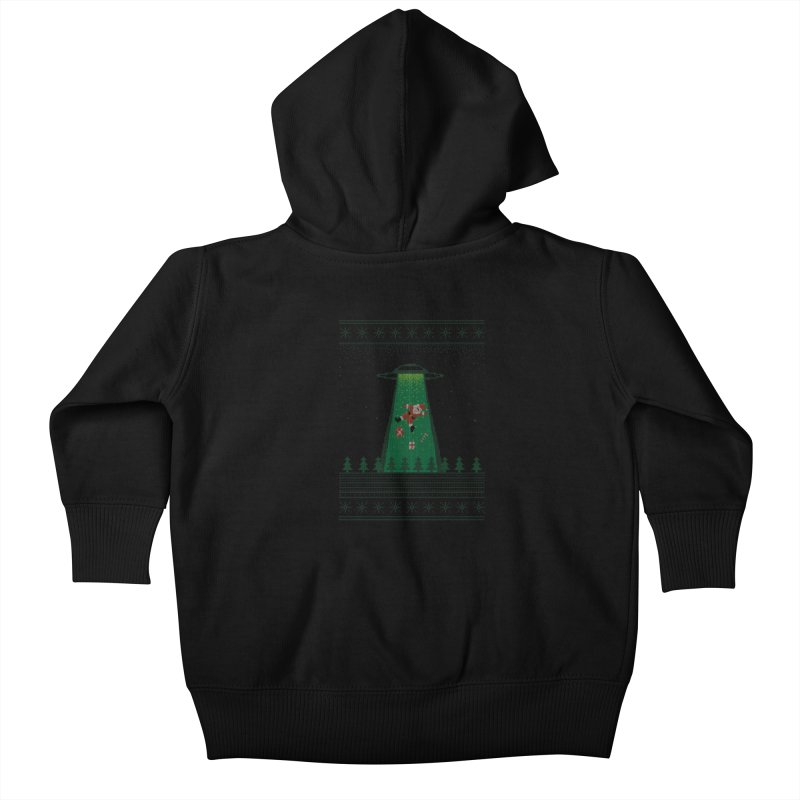 Goodbye Santa Kids Baby Zip-Up Hoody by Morozinka Artist Shop