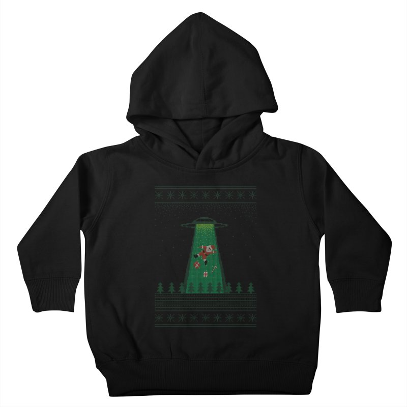 Goodbye Santa Kids Toddler Pullover Hoody by Morozinka Artist Shop